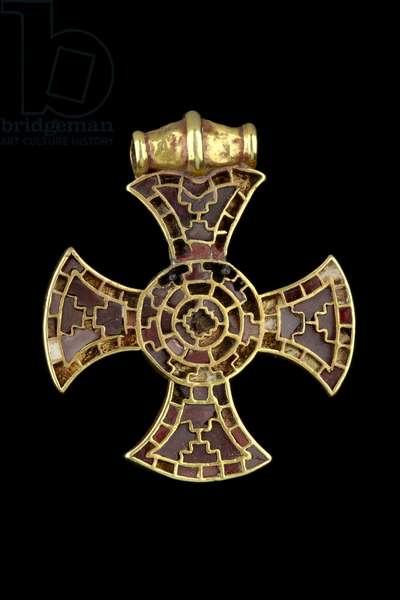 Ixworth Cross (garnet & gold)