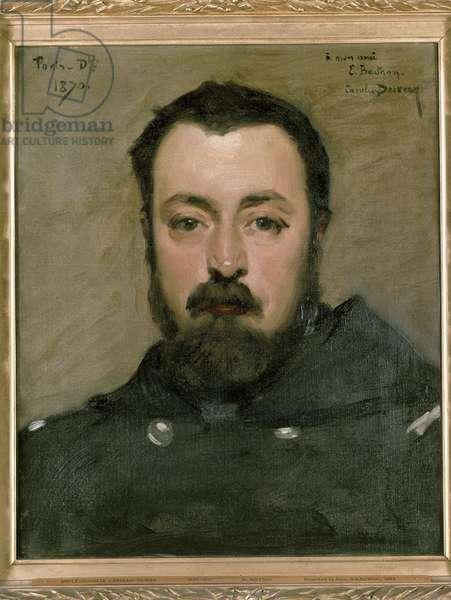 Portrait of M. Berthon, 1870 (oil on canvas)