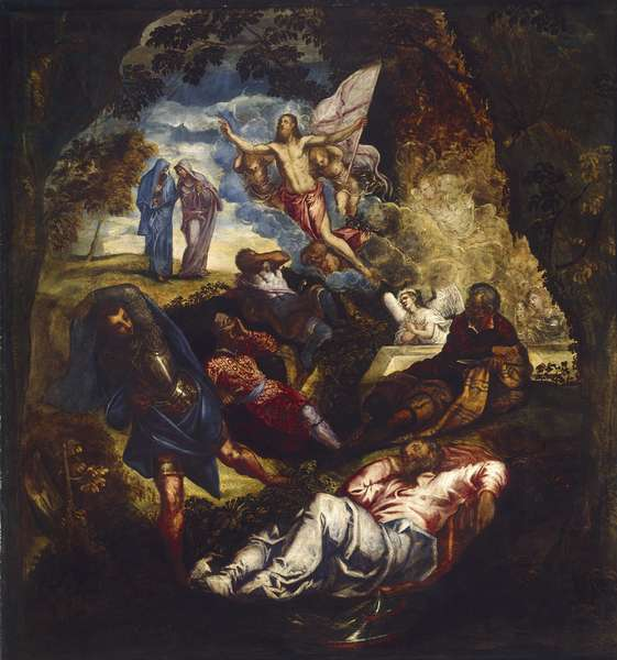 The Resurrection of Christ, 16th century (oil on canvas)