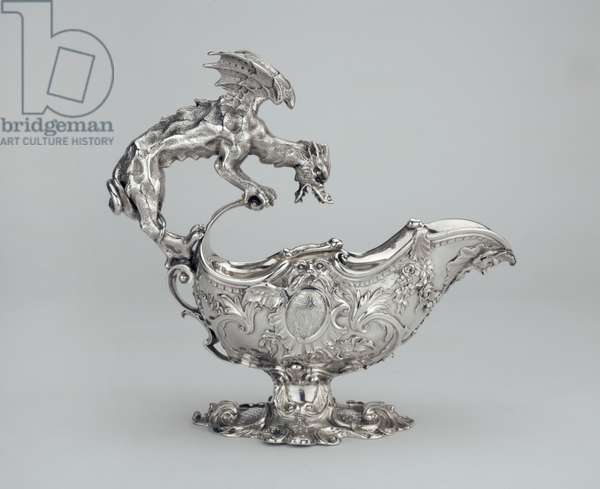 Sauceboat c. 1740 (silver)