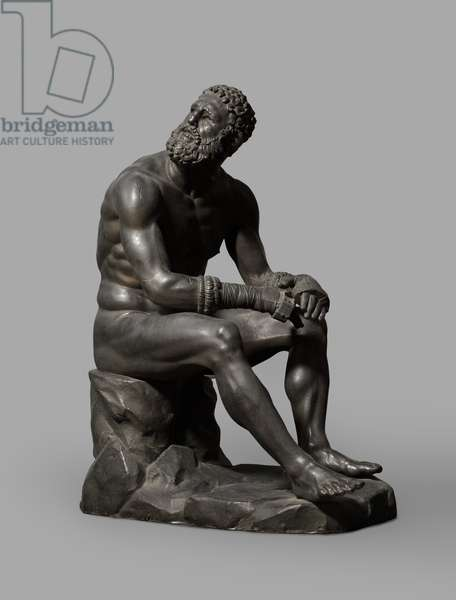 Cast of Terme Boxer from the Quirinal Hill, Rome, original dated 3rd-2nd century BC (plaster)
