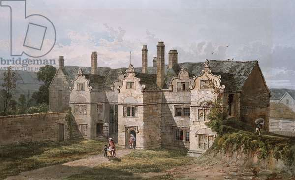 View of Trerice, Cornwall, 1819 (watercolour)