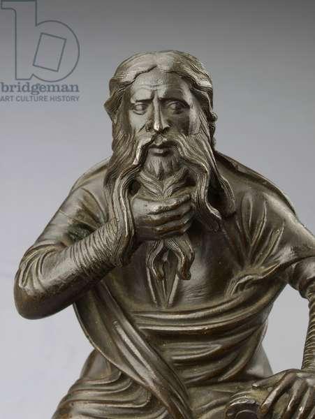 Prophet Moses, late 12th century (bronze)
