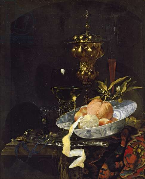 Still Life with an oriental Rug, early 1660s (oil on canvas)