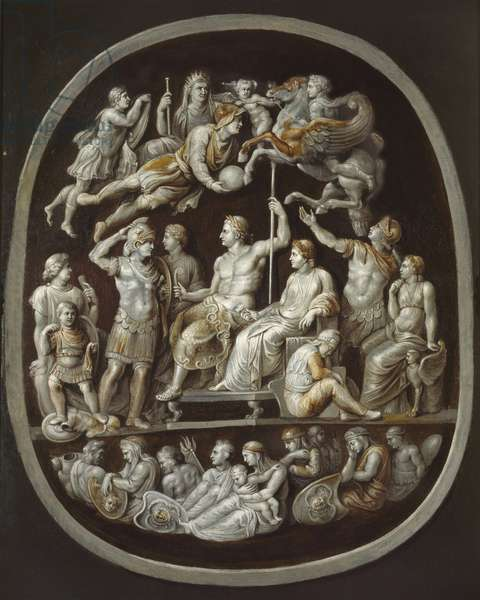 The Apotheosis of Germanicus (oil on canvas)