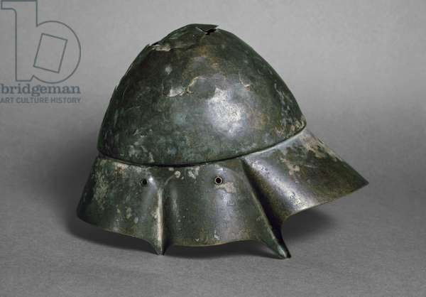 Helmet of the 'Companion Cavalryman', Boetian, probably 4th century BC (bronze) (see also 419878)