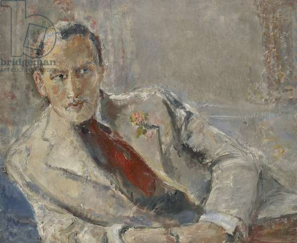Geoffrey Hedley, c.1942 (oil on canvas)
