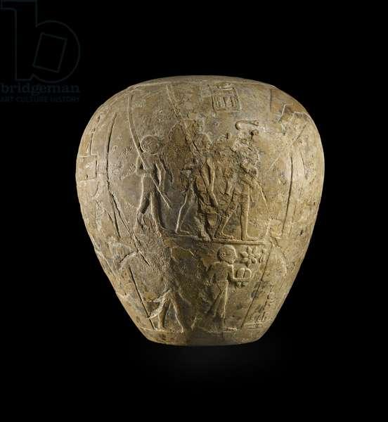 Macehead of Narmer (limestone)