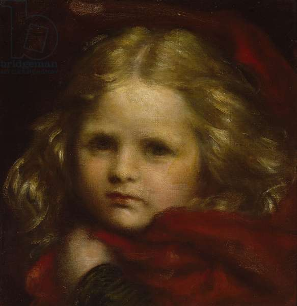 Little Red Riding Hood, 1864 (oil on canvas)
