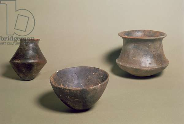 El Argar culture pottery, Almeria, Spain, early Bronze Age, beginning of the 2nd millennium BC (pottery)