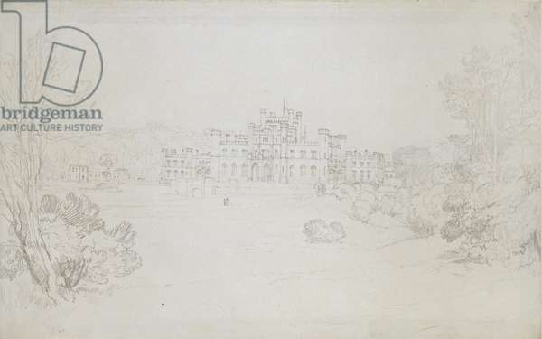Lowther Castle, 1809 (graphite on wove paper)