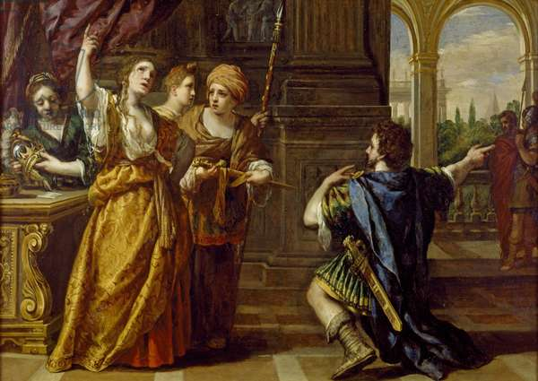 The Oath of Semiramis, c. 1623-24 (oil on copper)