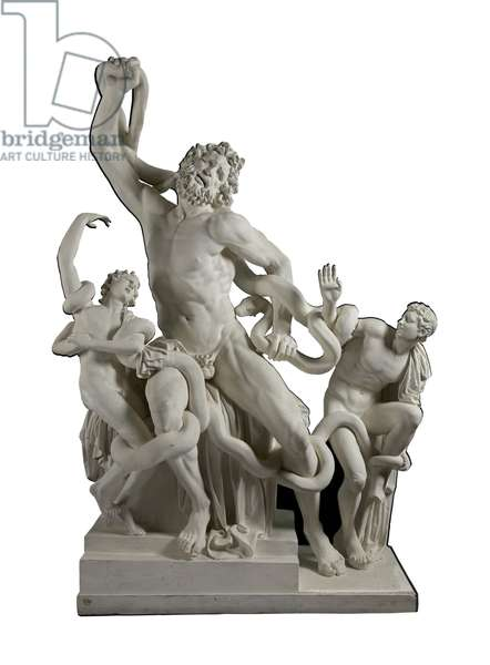 Cast of Laokoon group from the Esquiline Hill, Rome, original dated 30 BC (plaster)