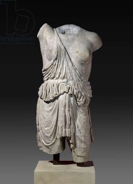 An Amazon, Roman copy of a Greek bronze from c.430 BC (marble)