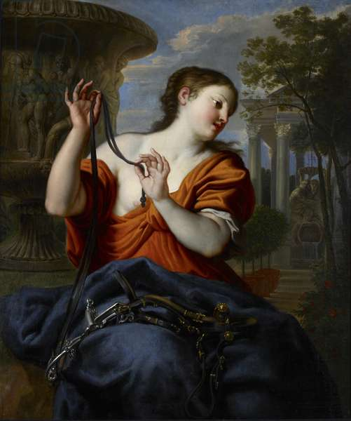 Temperance, late 17th century (oil on canvas)