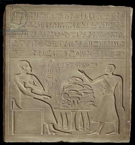 Stela of Imeny (limestone)
