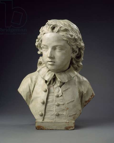 Bust of Edward Salter aged six, 1748 (terracotta)