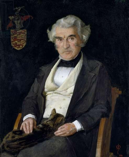 Portrait of Thomas Combe, 1850 (oil on panel)