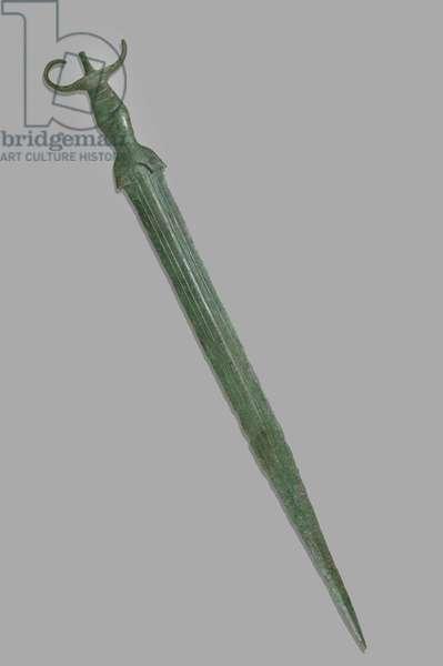 Sword, Near Palermo, Sicilian, 8th century BC (bronze)