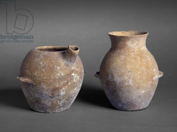 Prehistoric jars from Tomb P12, Jericho (pottery)