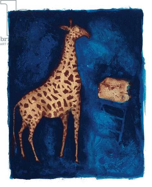 A Modern Bestiary – Giraffe, 2004 (screenprint)