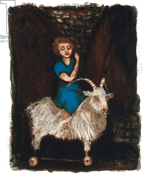 A Modern Bestiary – Goat, 2004 (screenprint)
