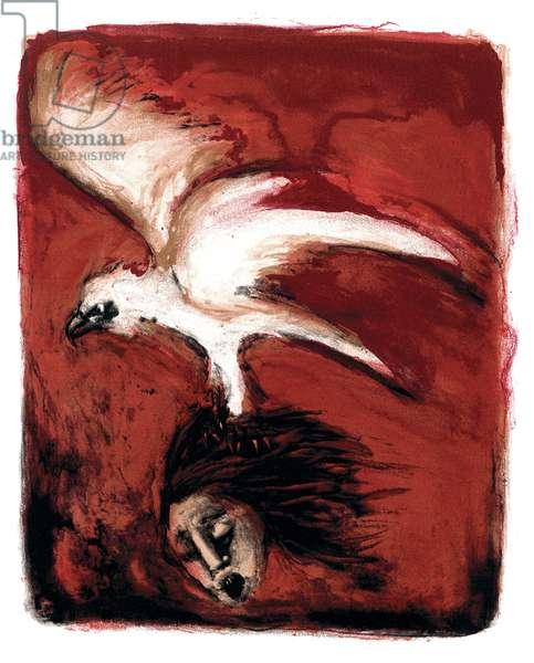A Modern Bestiary – Eagle, 2004 (screenprint)
