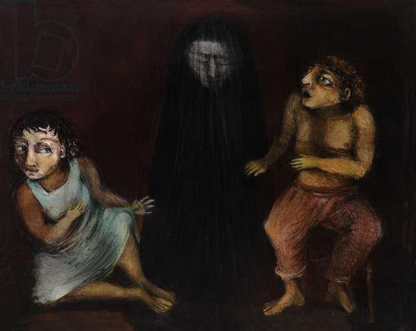 Homage to Neruda VI, 2013 (monotype)