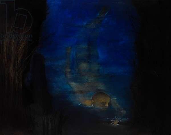 Homage to Neruda VII, 2013 (monotype)