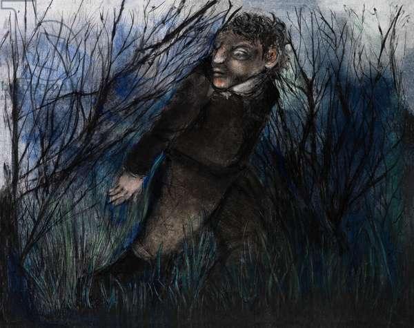 Homage to Neruda VIII, 2013 (monotype)