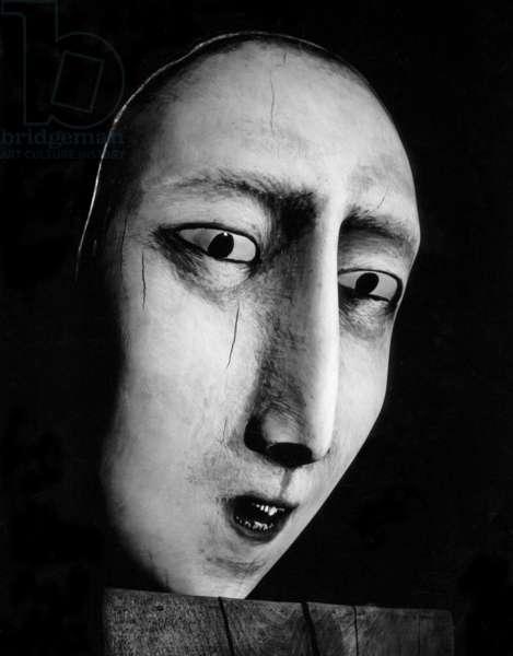 Study of Head (John the Baptist II), 1990 (polychrome wood)