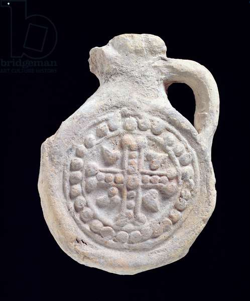 Pilgrim flask (clay)
