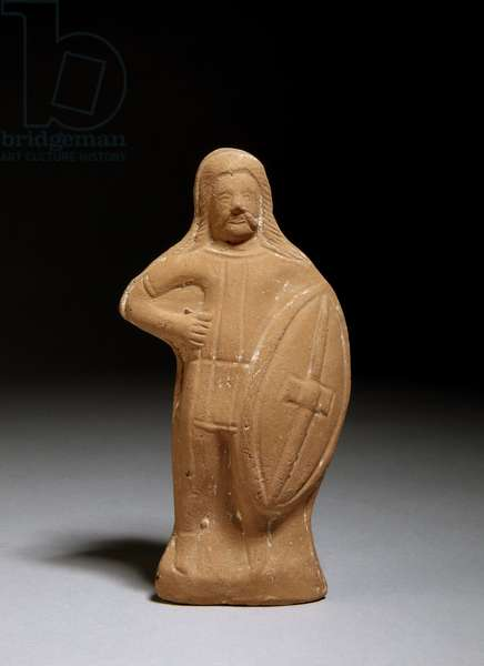 Figurine of a barbarian (terracotta)