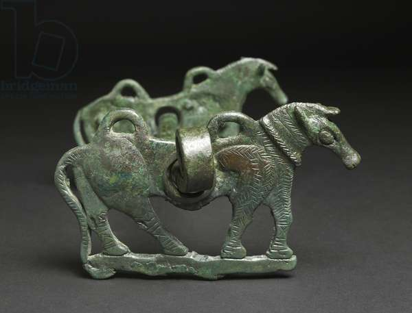 Horse Bit, possibly 9th-7th century BC, Iran (bronze) (see also 113753)