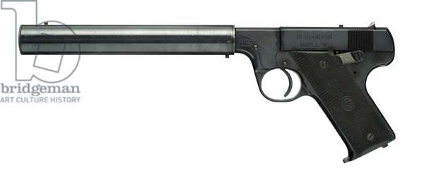 Rimfire self loading silenced pistol,  (photo)