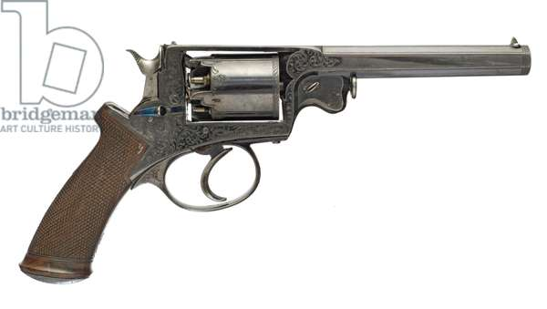 Percussion five shot revolver, 1856 (photo)