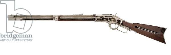 Centrefire lever-action magazine rifle, c.1873 (photo)
