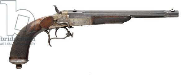 Duelling pistol, 1905 (photo)