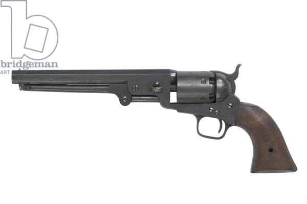 Percussion six shot military revolver, c.1855 (photo)
