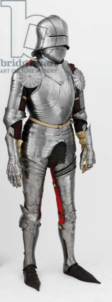 Composite field armour in the Gothic style, c.1480 (metal)