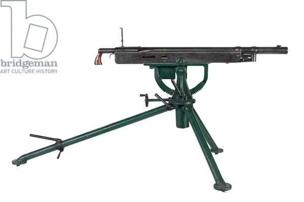 Centrefire automatic machine gun, 1895 (photo)