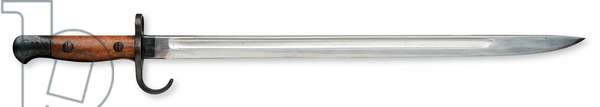 Sword Bayonet, 1901-30 (wood, leather & steel)