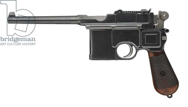 Mauser Model C96 centrefire self loading pistol (wood & metal)
