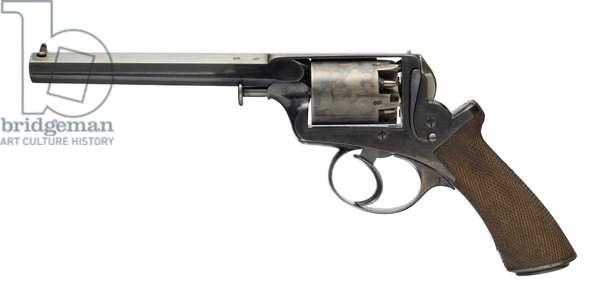 Percussion five shot revolver, c.1851 (photo)