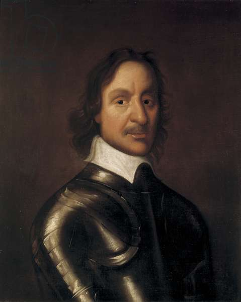 Portrait of Oliver Cromwell, mid 17th century (oil on canvas)