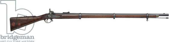 Percussion military rifled-musket, 1859 (wood & iron)