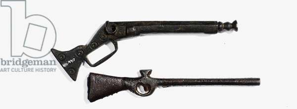 Flintlock toy musket (metal)