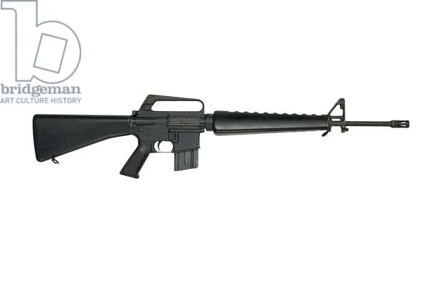 Centrefire automatic rifle, 1980 (photo)