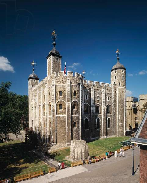 The White Tower, London (photo)