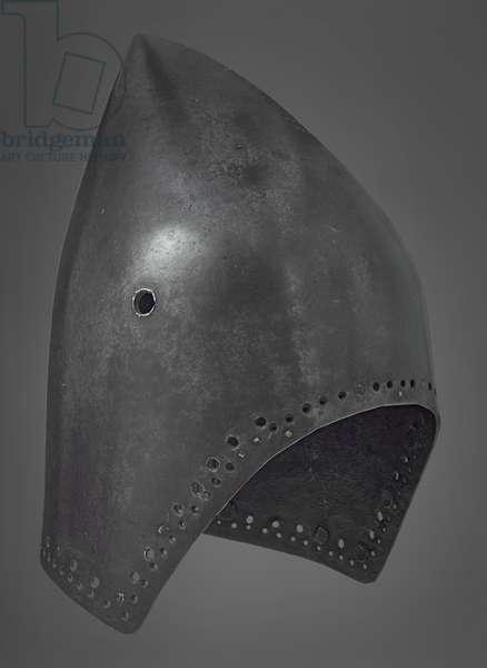 Bacinet, Milan, c.1380-1390 (metal)